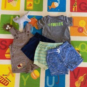 Bundle/Lot: Pants set + Disney overall + FREE gift